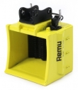 Remu EX140 screening bucket